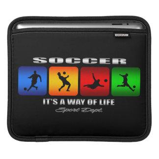 Cooler Fußball ist es eine Lebensart Sleeve Für iPads