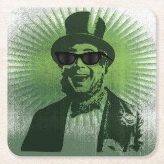 Cooler Heiliger Patrick-Hipster bereit zu Ihren Rechteckiger Pappuntersetzer