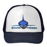 Cooler Hutentwurf der Haifischfischen-Cartoonkunst Netzmütze