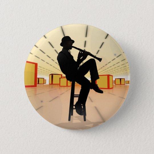 Cooler Jazz 3 Runder Button 5,7 Cm