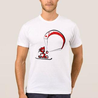 Cooler kitesurf Cartoongeck T-Shirt