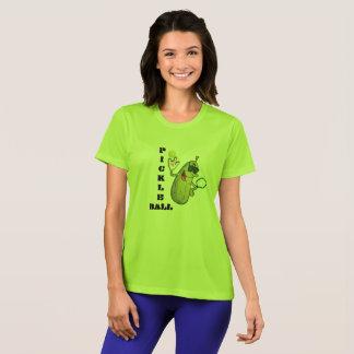 Cooler Limoner grüner Pickleball T - Shirt
