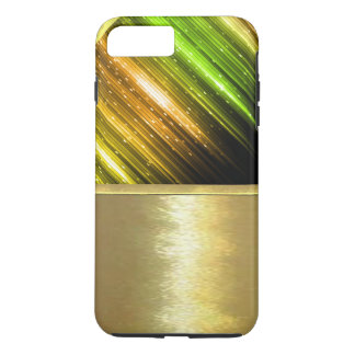 Cooler metallischer Schein-Goldentwurfs-Fall iPhone 8 Plus/7 Plus Hülle