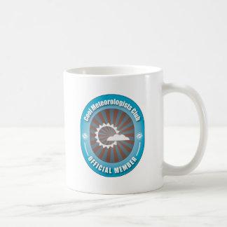 Cooler Meteorologe-Verein Kaffeetasse