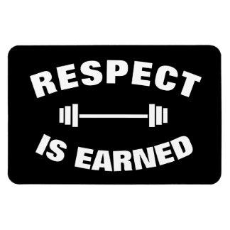 Cooler motivierend Respekt wird erworben Magnet