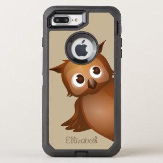 Cooler niedlicher Name-lustiges OtterBox Defender iPhone 8 Plus/7 Plus Hülle