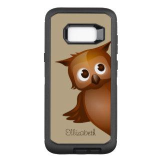 Cooler niedlicher Name-lustiges OtterBox Defender Samsung Galaxy S8+ Hülle