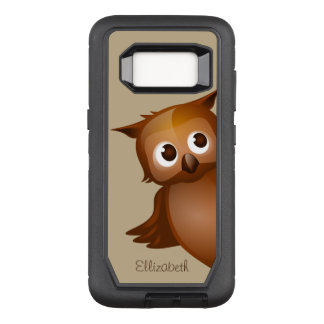 Cooler niedlicher Name-lustiges OtterBox Defender Samsung Galaxy S8 Hülle