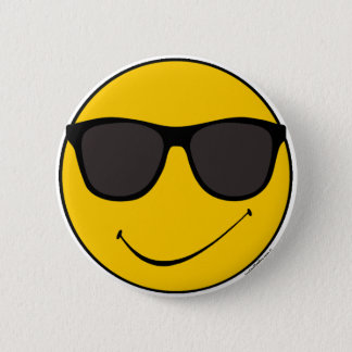 Cooler smiley Joes Runder Button 5,7 Cm