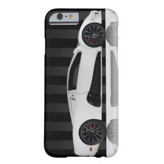 Cooler Sport-Auto weißer schwarzer IPhone 6 Kasten Barely There iPhone 6 Hülle