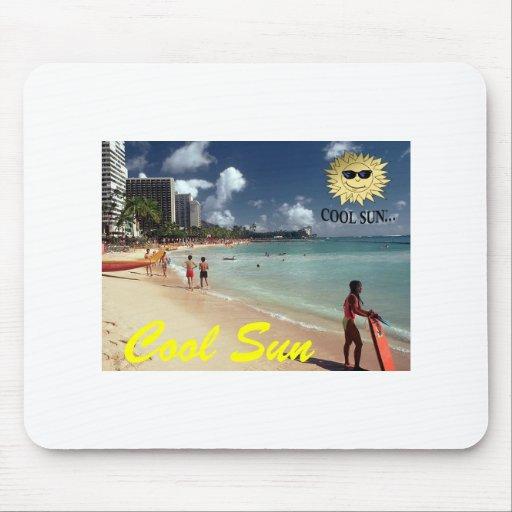 Cooler Sun Mousepad