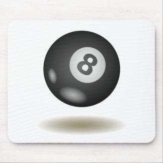 Cooles Billard-Emblem Mousepads