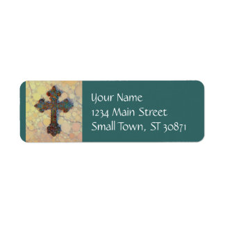 Cooles christliches Querkreis-Mosaik-Muster