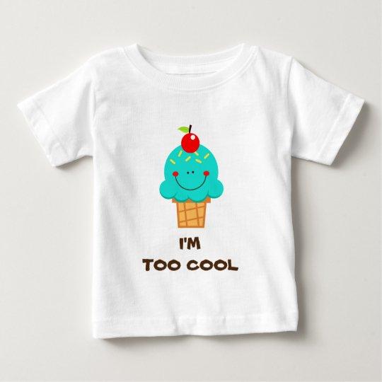 Cooles Eiscremet-shirt Baby T-shirt