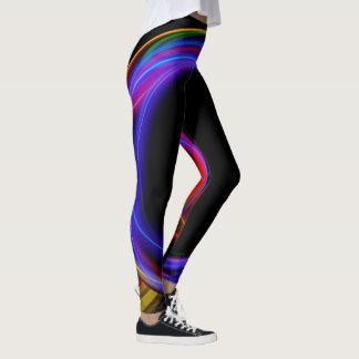Cooles Fraktal-psychedelisches Leggings
