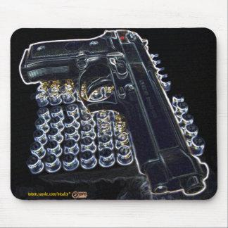 Cooles Gewehr-Foto mousepad
