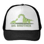 Cooles großer Bruder-Shirt - Dinosaurier-Thema Truckerkappen