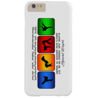 Cooles Karate ist es eine Lebensart Barely There iPhone 6 Plus Hülle