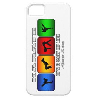 Cooles Karate ist es eine Lebensart iPhone 5 Schutzhülle