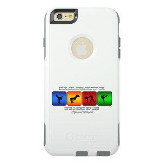 Cooles Karate ist es eine Lebensart OtterBox iPhone 6/6s Plus Hülle