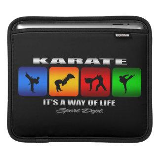 Cooles Karate ist es eine Lebensart Sleeve Für iPads