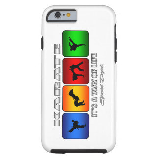 Cooles Karate ist es eine Lebensart Tough iPhone 6 Hülle