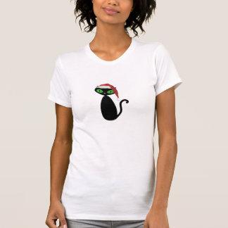 Cooles Katzen-WeihnachtsShirt T-Shirt