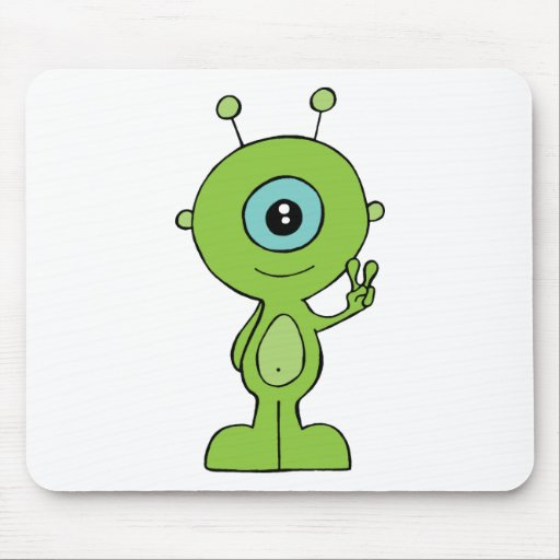 Cooles kleines alien mousepads