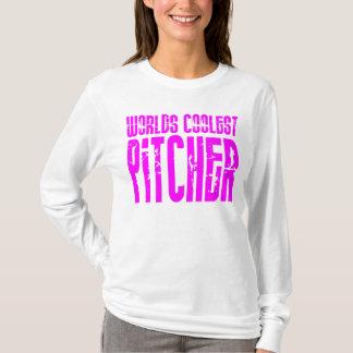 Cooles Krug-Rosa: Weltcoolster Krug T-Shirt