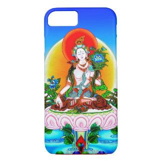 Cooles orientalisches tibetanisches thangka weiße iPhone 8/7 hülle