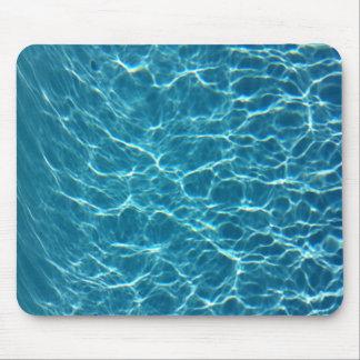 Cooles Pool-Wasser Mauspads