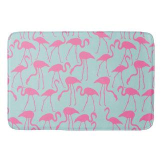 Cooles Sommer-Flamingo-Muster Badematte