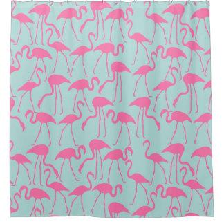 Cooles Sommer-Flamingo-Muster Duschvorhang