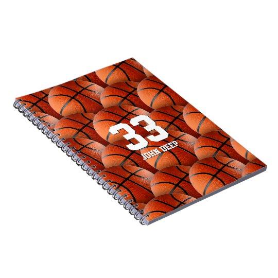 Cooles Sport-Geschenk des Basketball-| Spiral Notizblock