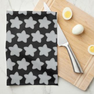 Cooles Stern-Art-Muster-Küchen-Tuch Handtuch