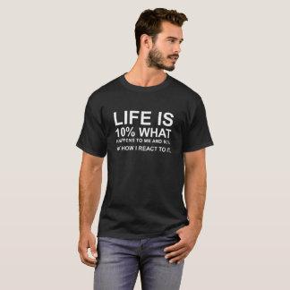 cooles T-Shirt mit - Sprichwortzitattypographie