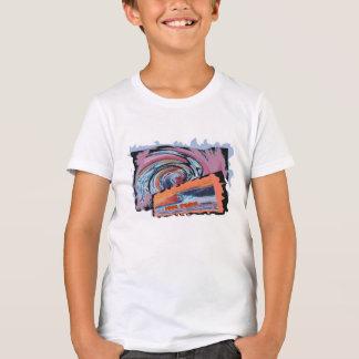 Cooles Typ-Brandungs-T-Shirt T-Shirt