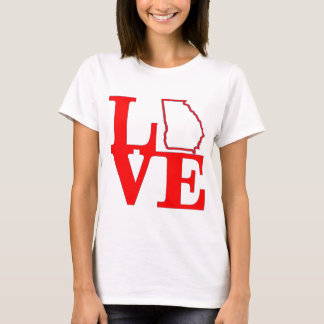 COOLES Vintages LIEBE Georgia-Staats-Shirt - Retro T-Shirt
