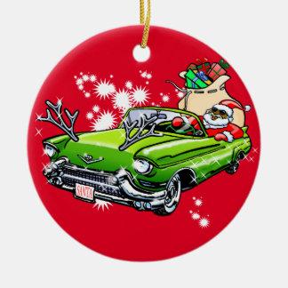 Cooles Weihnachten! Keramik Ornament