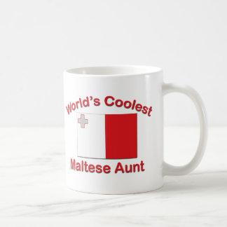 Coolste maltesische Tante Kaffeetasse