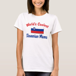 Coolste slowenisch Mutter T-Shirt