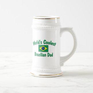 Coolster brasilianischer Vati Bierglas