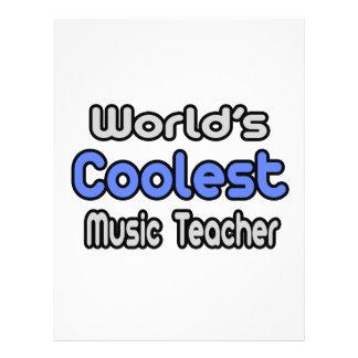 Coolster die Musik-Lehrer der Welt Flyers