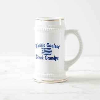 Coolster griechischer Großvater Bierglas