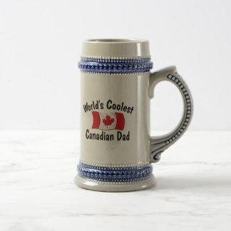 Coolster kanadischer Vati Bierglas