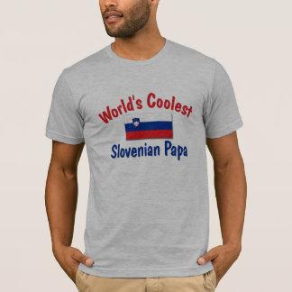 Coolster slowenisch Papa T-Shirt
