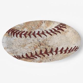 Coolstes Baseball-Papier-Teller-Baseball-Party Pappteller