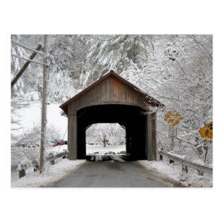 Coombs überdachte Brücke Postkarte