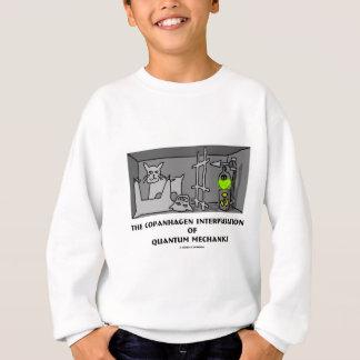 Copanhagen Interpretation von Quantums-Mechanikern Sweatshirt