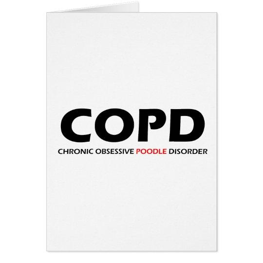 COPD - Chronische besessene Pudel-Störung Karte